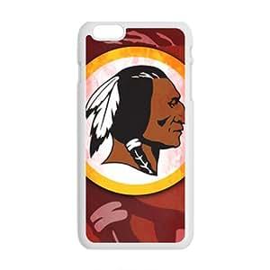 ZXCV Washington Redskins Logo Fashion Comstom Plastic case cover For Iphone 6 Plus