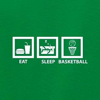 0-18 mois B/éb/é-Body 7 Couleur Eat Sleep Basketball