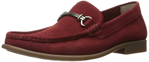 Stacy Adams Mens Kelby-moc Toe Slip-on Oxford Rosso