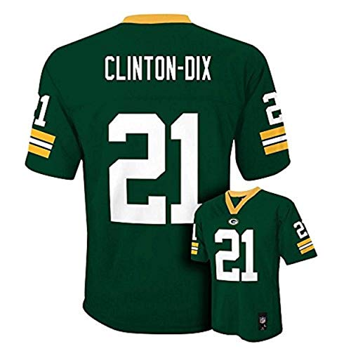 Ha Ha Clinton-Dix Green Bay Packers NFL Youth Green Home Mid-Tier Jersey (Youth Medium ()