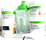 HERBALIFE COMBO FORMULA1 SHAKE MIX COOKIES WITH CREAM + PROTEIN POWDER PERSONALIZED + ACTIVE FIBER APPLE + SHAKER CUP + SPOON.