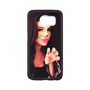 LSQDIY(R) Selena Gomez SamSung Galaxy S6 Customized Case, Unique SamSung Galaxy S6 Durable Case Selena Gomez