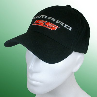 Chevrolet Camaro SS Black Baseball Cap: Automotive