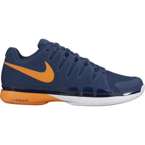 Nike Men's Zoom Vapor 9.5 Tour (Coastal Blue/Bright Citrus/White 631458-401) (9.5) (Nike Zoom Vapor Shoes compare prices)