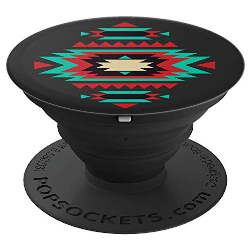 Navajo Aztec Tribal Indian Pattern - PopSockets Grip and Stand for Phones and Tablets
