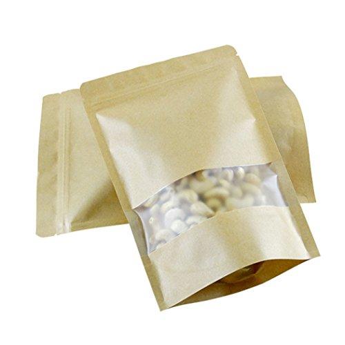 Brown Paper Seed Bags - 9