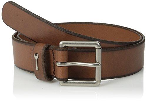 Fossil Women's Key Keeper Belt, Brown, Large