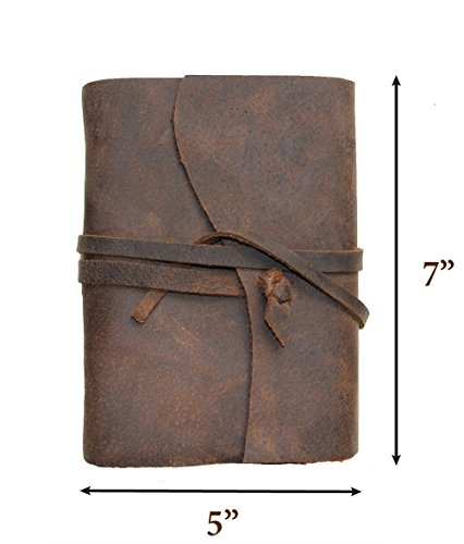 Vintage Crafts Handmade Medium Vintage buffalo Leather Journal Diary Men Women Anniversary Gifts