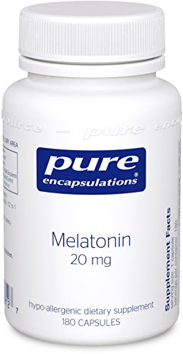 Pure Encapsulations Melatonin Hypoallergenic Supplement