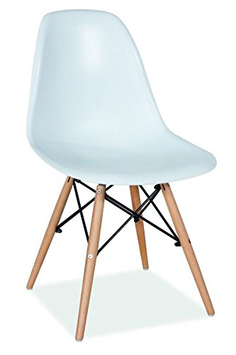 Design Stühle vetrostyle design stuhl enzo weiss scandinavia amazon de küche