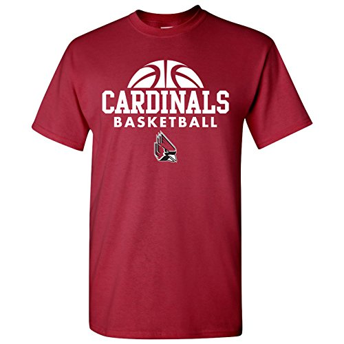 Ball State Cardinals Basketball Hype Mens T-Shirt - Large - Red ()