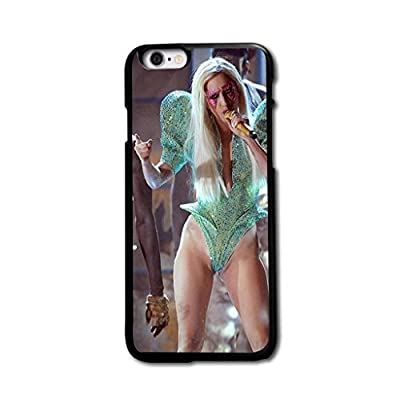 "Tomhousomick Custom Design Women's Fashion Cases Sexy Singer Lady Gaga Case for iPhone 6 Plus 5.5"" Back Cover #176"