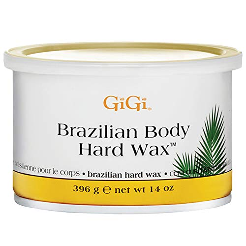 GiGi Brazilian Body Hard Wax 14ounce (Best Place To Get A Brazilian Wax)