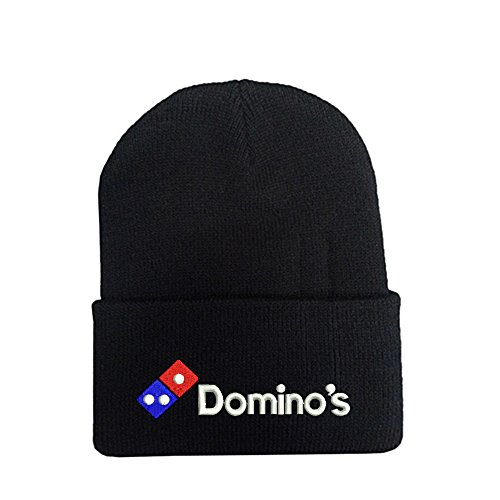 domino-pizza-black-long-beanie-souvenier-gift-unique-hat