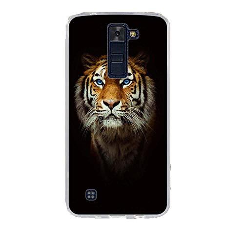 Phone Case for LG K8 K350N K350DS LTE K350E Escape 3 K373 Phoenix 2 Soft Silicone Back Cover Case for LG K7 K10 Leon Spirit Bags,9,for LG K10 (Phone Cases Lg Vista Cowboy)