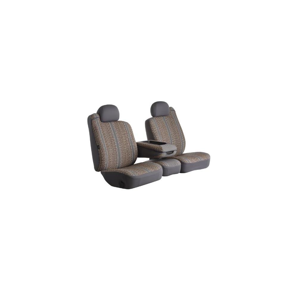 Fia TR47 30 GRAY Custom Fit Front Seat Cover Split Seat 40/20/40   Saddle Blanket, (Gray) Automotive