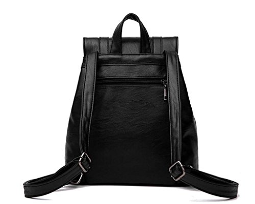 Gift Shopping Girls bandoulière Tourisme PU Three Student Ladies à Colors Sac Schoolbag BeiBao Double Loisirs wCBT7qFW