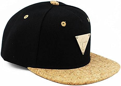 Hater Cork Brim Snapback Hat - Gorra para niño Color Negro: Amazon ...
