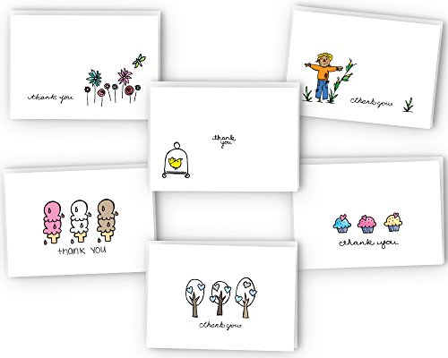Amazoncom Sugartown Greetings Thank You Cards Variety Pack 24