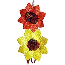 Planet Pleasures Sunflower Bird Toy, Large