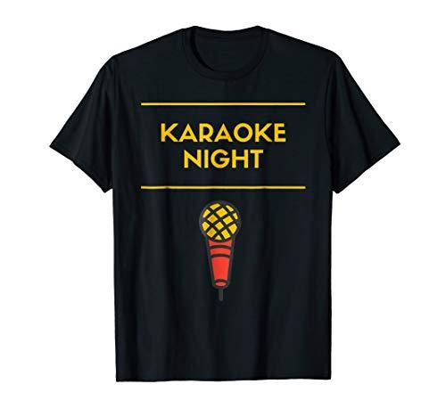 - Karaoke Night T-Shirt Lyrics Karaoke Singer Karaoke Singing