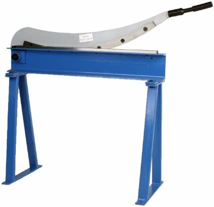 Erie Tools Manual Guillotine Shear 32 x 16 Gauge Sheet Metal Plate Cutting Cutter w Stand