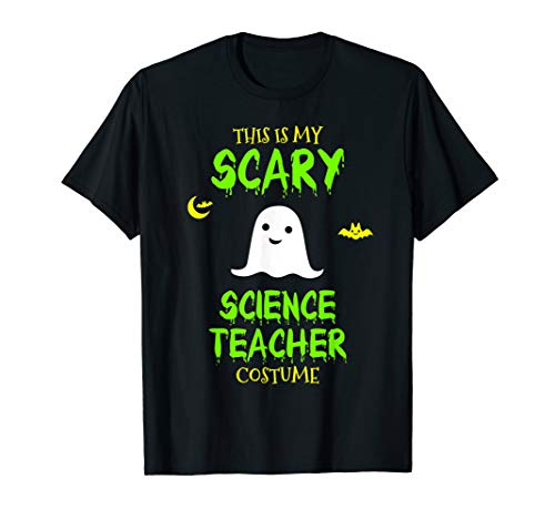 Scary Science Teacher Costume Halloween T-Shirt