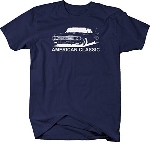 1960's Mens Shirt - American Classic Chevy Impala 1950's 1960's Tshirt - 2XL