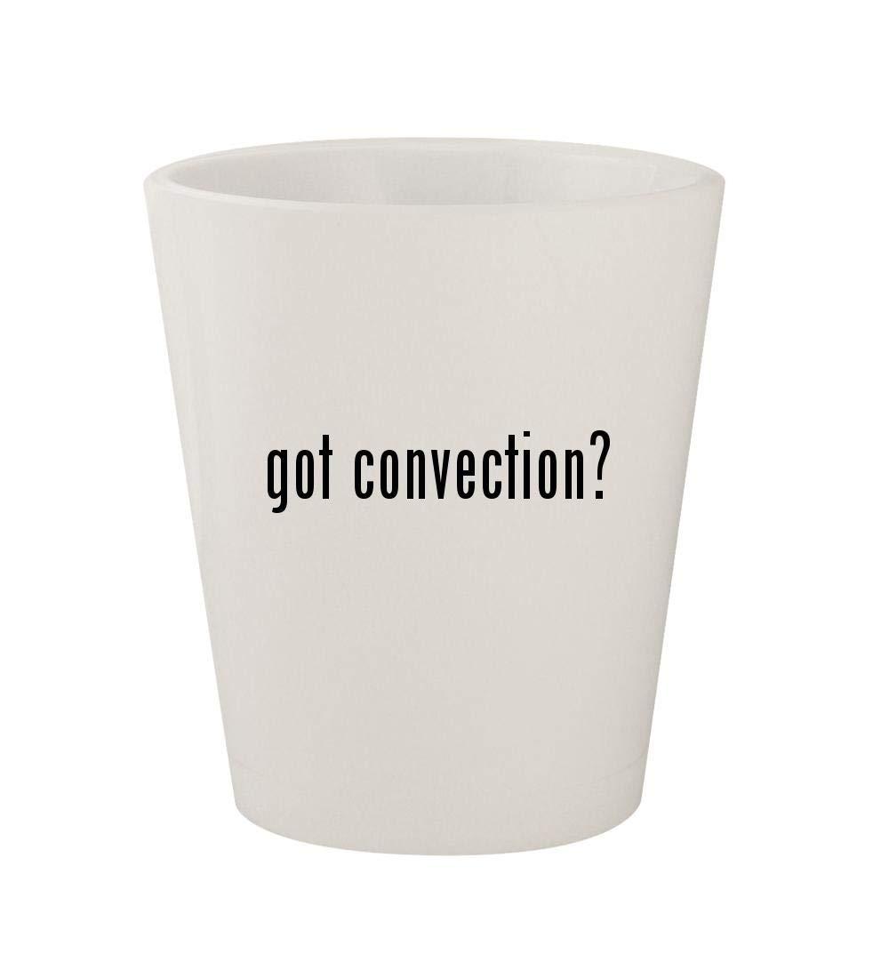got convection? - Ceramic White 1.5oz Shot Glass
