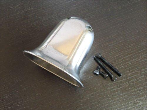 Scoop Carburetor Cover for Linkert Aluminum casting