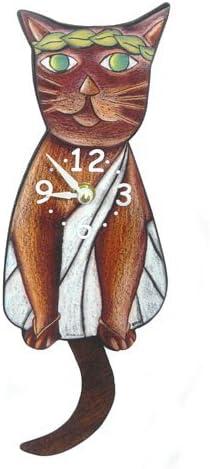 Toga Cat Swinging-Tail Pendulum Wall Clock