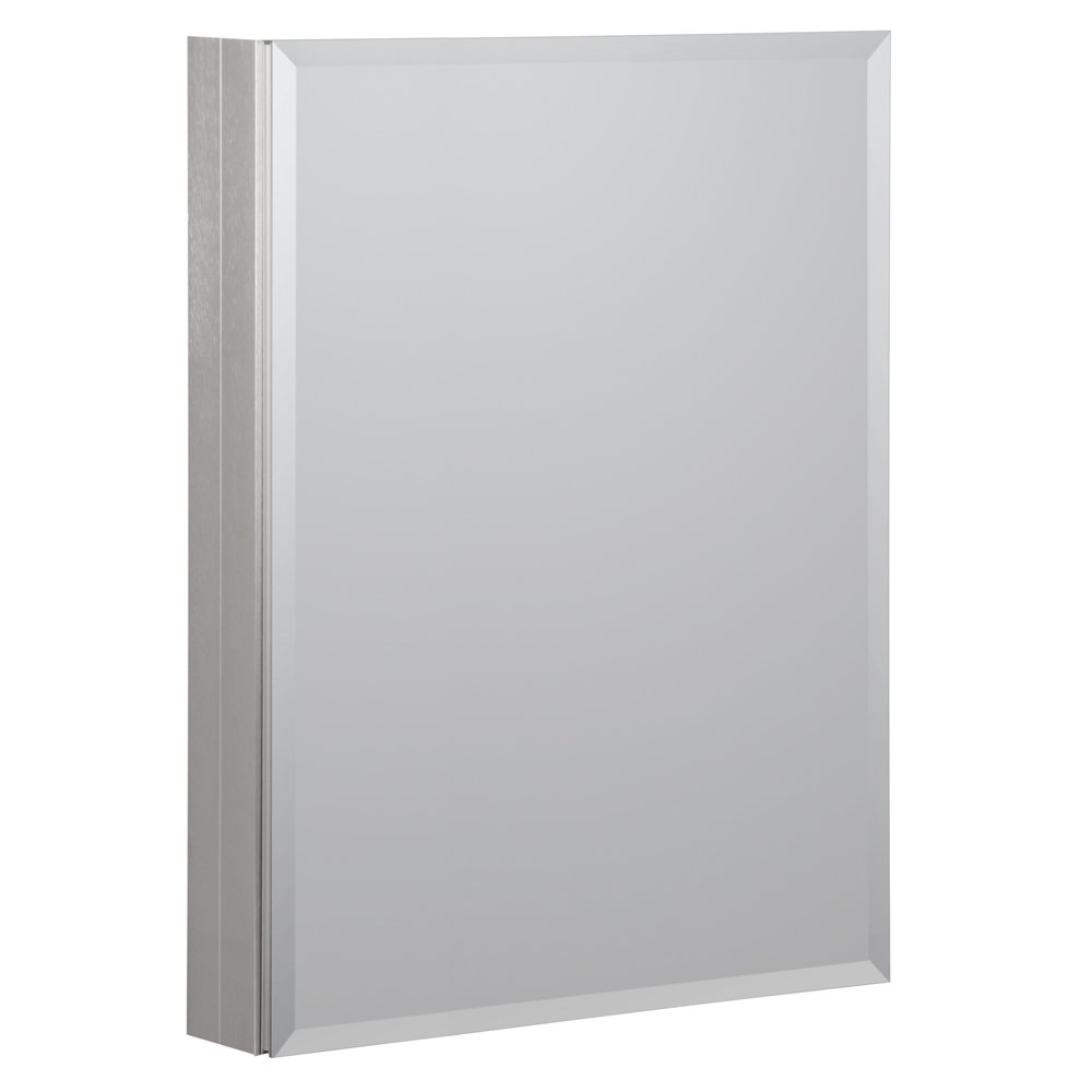 Foremost MMC2330-BN 23-Inch x 30-Inch Aluminum Medicine Cabinet In Brushed Nickel