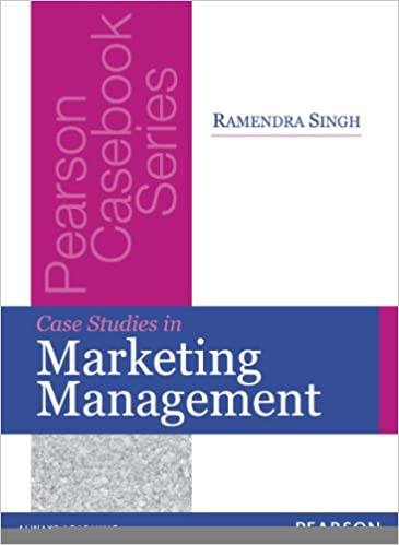 Case Studies In Marketing Management