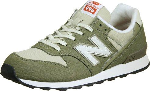 New New New Balance WR996 W Schuhe Oliv 172048