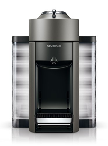 Nespresso by De'Longhi ENV135T Vertuo Evoluo Coffee and Espresso Machine, Titan