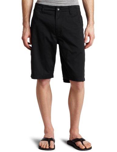 Reef Walkshorts (Reef Men's Moving On Chino Style Short, Black, 32)