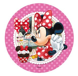DISNEY MINNIE MOUSE CAKE TOPPER 21 CM EDIBLE WAFER RICE IV PAPER