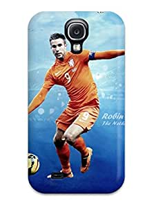Slim Fit Tpu Protector Shock Absorbent Bumper Robin Van Persie Holland Case For Galaxy S4