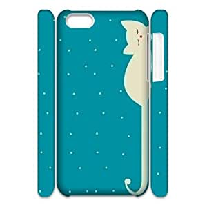 Custom New Case for Iphone 5C 3D, Cute Cats Phone Case - HL-R633899