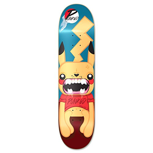 Yocaher Pika Punked Complete Skateboards available in 7.75