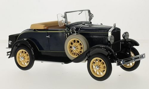 Ford T-Model Roadster, dark blue, 1931, Model Car, Ready-made, Sun star 1:18