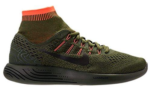 uk availability 37494 db88a ... nero bianco antracite shopping nike lunarglide 8 taglia db side uomo  scarpe da corsa taglia 8 us 11 m ...