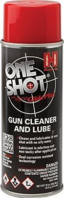 Hornady 99901 One Shot Gun Cleaner Aerosol Spray with DynaGlide Plus (10 fl oz Aerosol)