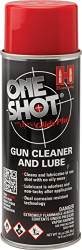 Hornady 99901 One Shot Gun Cleaner Aerosol Spray with DynaGlide Plus (10 fl oz Aerosol) (One Aerosol)