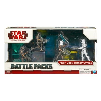 "Star Wars 3.75"" Battle Pack Asst - Rishi Moon Outpost Attack"