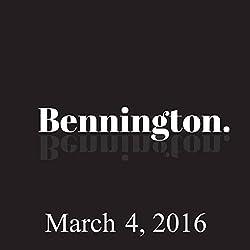 Bennington, March 4, 2016
