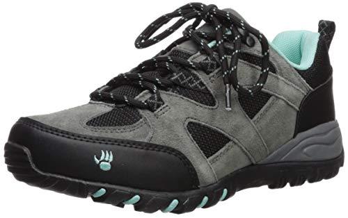 BEARPAW Women's Rhoda Hiking Boot, Charcoal, M100 M US