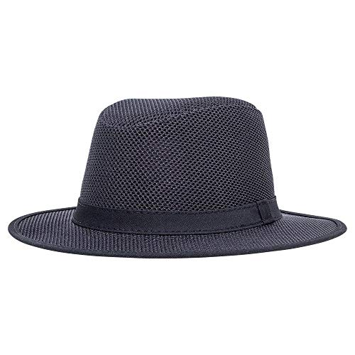 American Hat Makers Shadow by SolAir Hats - Black, X-Large ()