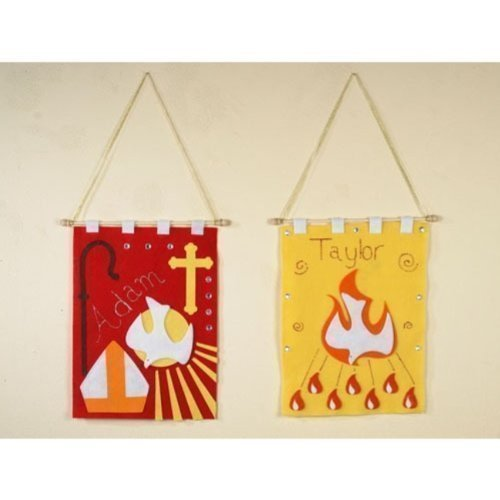 Confirmation Banner Arts and Craft Kit for Catholic Youth