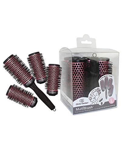 Olivia Garden Multibrush Detachable Thermal Styling Hair Brush Set, 46mm from Olivia Garden